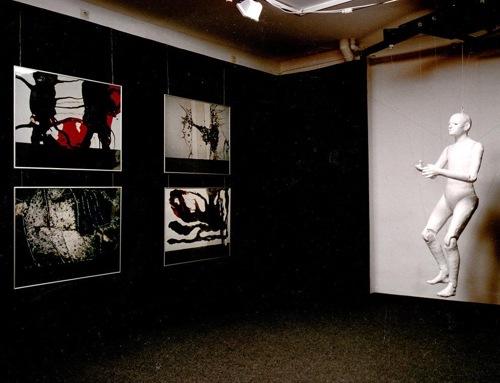 """Ausstellung Baumschulenweg """"studio bildende kunst"""", 1992"""