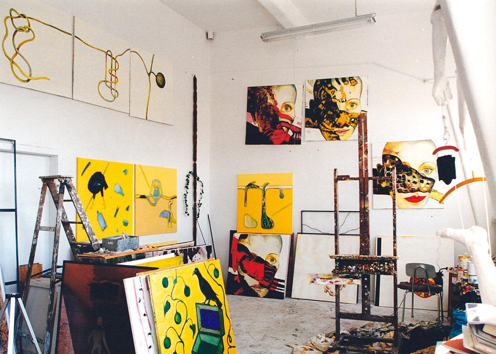 Atelier, Berlin Panzerhalle 2000