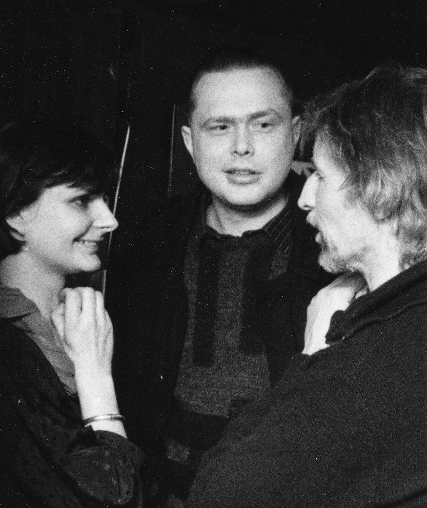 Galerie Oben mit Christoph Tannert und Peter Graf, 1986