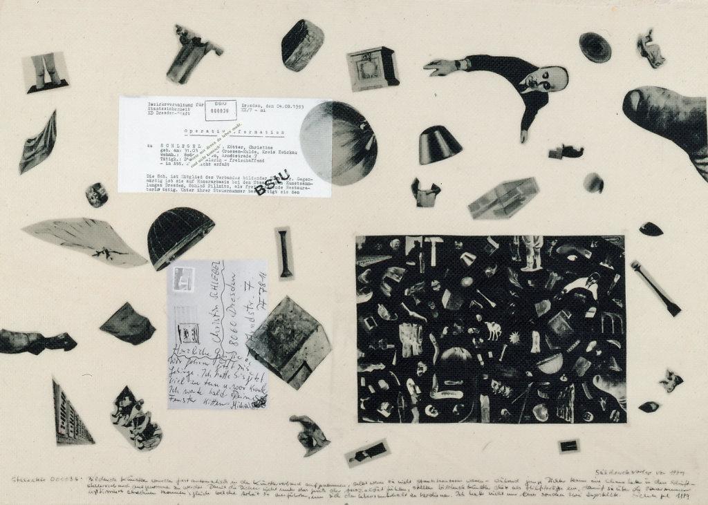 Bearbeitung von Auszügen aus den Akten der Staatssicherheit der DDR, 1999