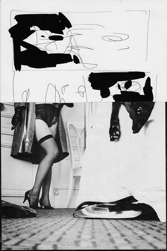 """Vorlage für Künstlerzeitschrift """"UND"""", ca. 1983"""