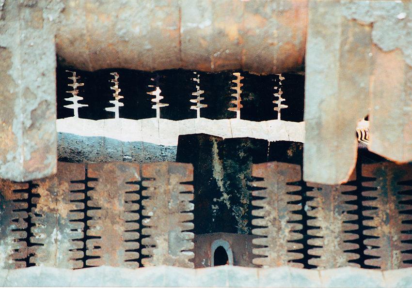 Foto Abriß Panzerhalle, 2007