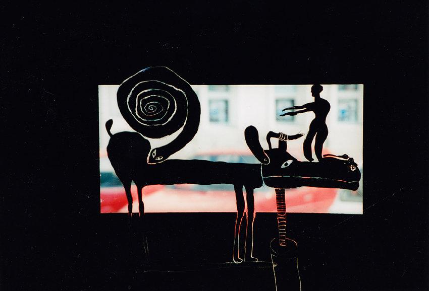 """""""Inventar deutscher Wirklichkeit"""", Kunstsalon der Volksbühne, Berlin, 1995: """"Neue Deutsche Räume und Ausblicke"""""""