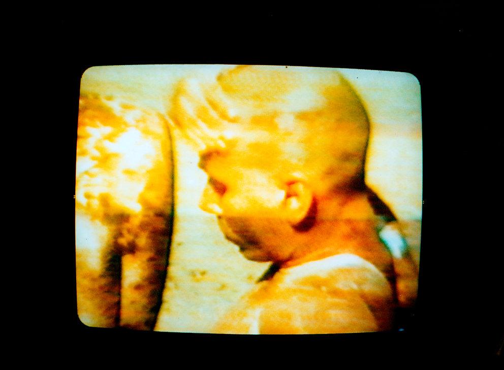 """Still von Fine aus """"Der Weiße Traum"""", Super8 Film, 1984"""