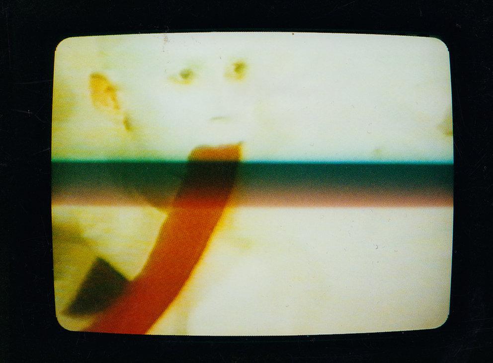 """Still von Fine aus """"Treibhaus"""", Super8 Film, 1984"""