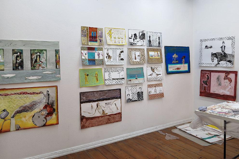 Ehrenstipendium im Künstlerhaus Lukas, Ahrenshoop, 2015