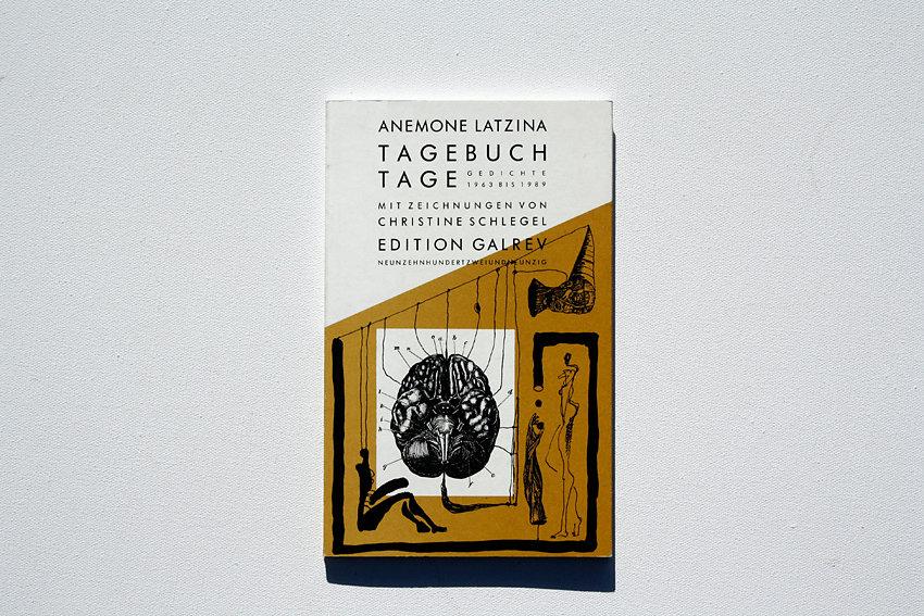 """""""Tagebuchtage"""", Zeichnungen zu Gedichten von Anemone Laztina, Edition Galrev, Berlin 1992"""