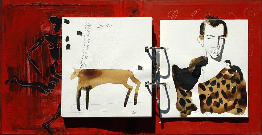 """Hand-Arbeits-Buch """"Wild Years – Tom Waits"""", 2006"""