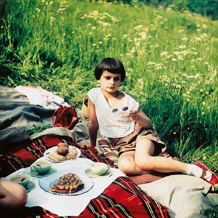 """""""Reservate der Kindheit"""" - Nachinszenierungen, Foto 6x6 Dia Agfa, 1956 W.H. Schlegel"""